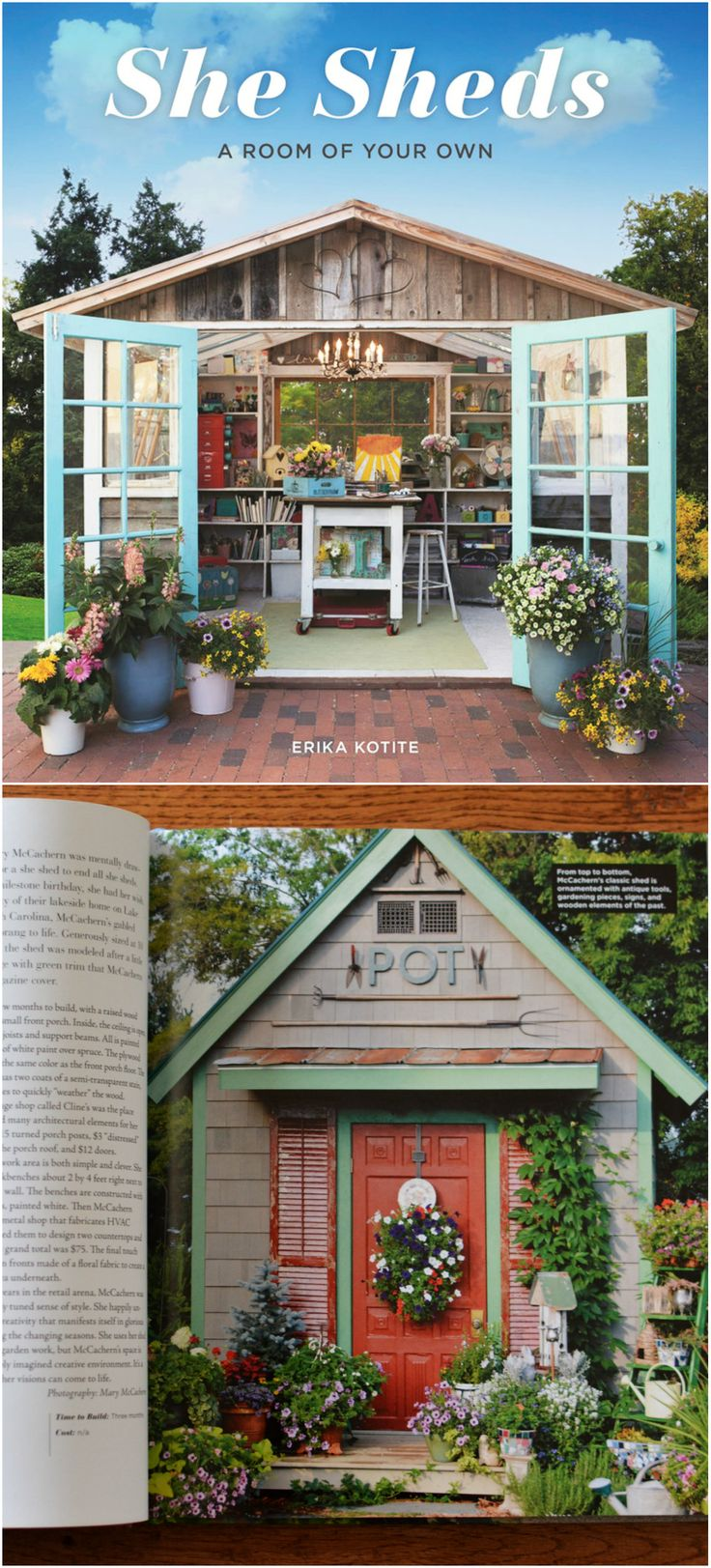 potting shed featured in she sheds a room of your own lots of inspiration