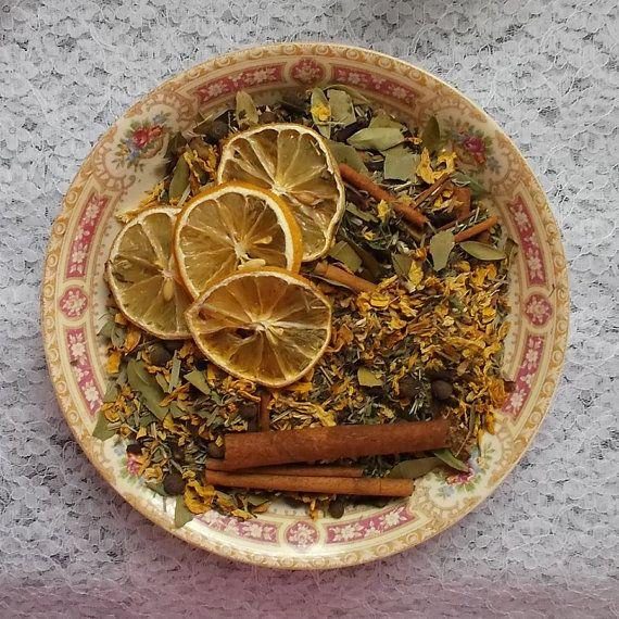 Lemon Spice Simmering Potpourri Handmade by TheShabbyWitch on Etsy, $7.99