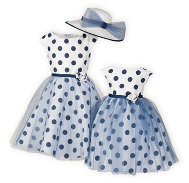 New Spring 2015 Collection. My Fair Ladies Matching Sister Dresses made in the USA exclusively for The Wooden Soldier.