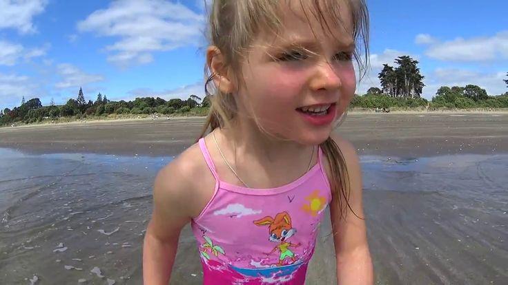 У нас лето !!! Новая Зеландия. Пляж. Новый год. Влог 1