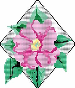 Cherokee rose - Bead Magazine - to see full pattern requires registration, but it is free to register and free to download once registered