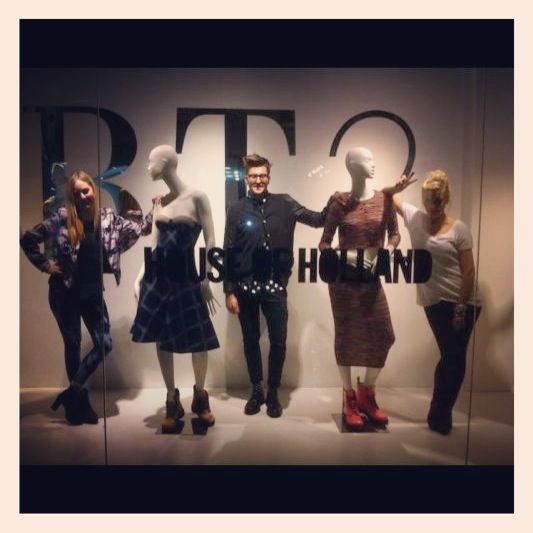 Henry Holland Launching his collection.  Styled by Shirley O Toole