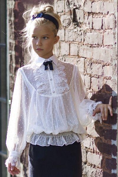 Идеи блузок для школьниц - Клуб Сезон