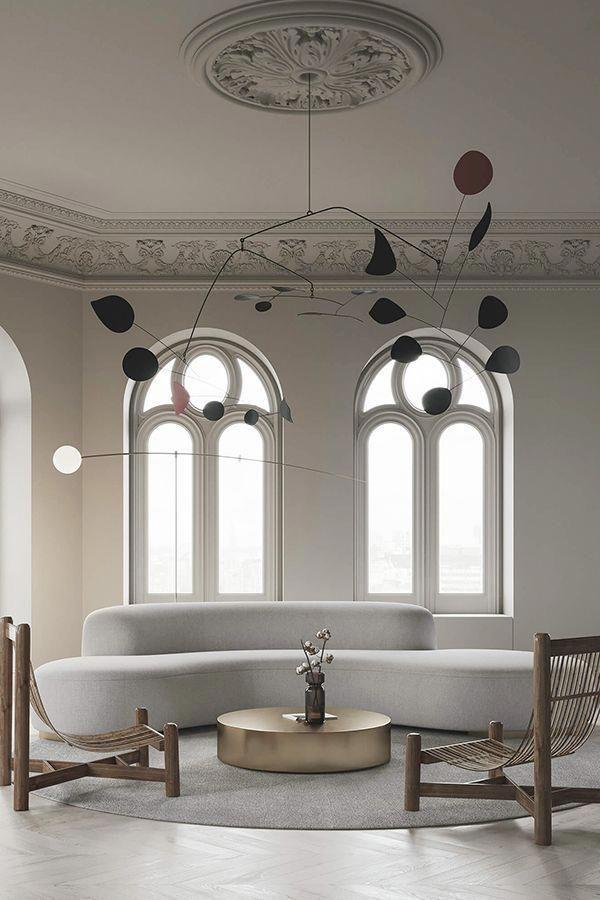 Minimalist Living Room Designed By Evgeniy Bulatnikov Emil Dervish Top Interiors On Instagram Contemporary Interior Design Modern Interior Design Interior