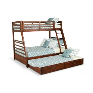 Chadwick Twin Full Bunk Bed With Trundle Home Discount Furniture
