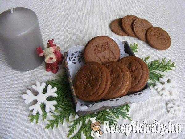 Kakaós sütipecsétes keksz karamell krémmel 3