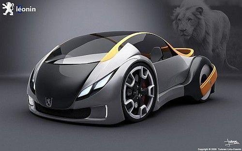 Peugeot Leonin, Leonin, Concept cars, electric cars, Peugeot, futuristic car, futuristic design, eco car, green car