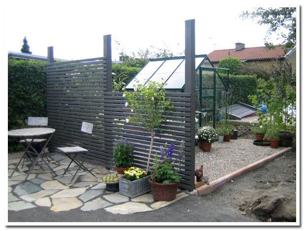 staket, snyggt grått