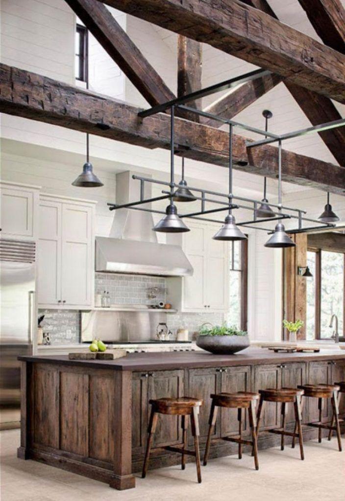 43 Smart Rustic Farmhouse Kitchen Cabinets Remodel Ideas Modern