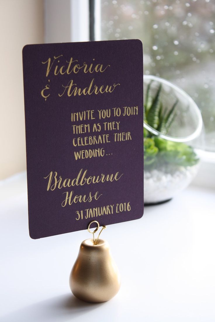 how to make invitation letter for vispurpose%0A Items similar to Handwritten Wedding Invitation on Etsy