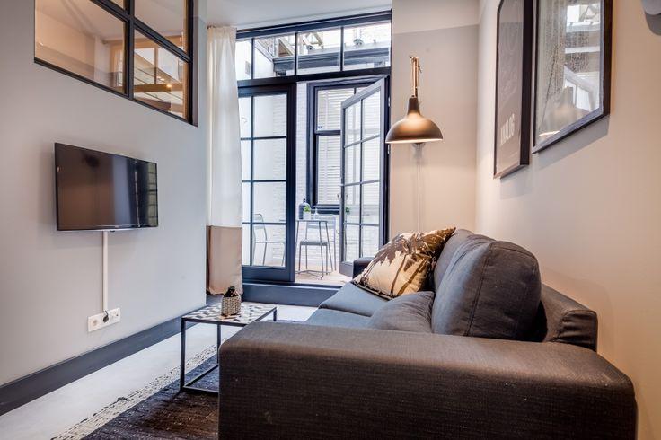 25 beste idee n over kleine appartementen op pinterest studio appartementen kleine ruimte - Een appartement ontwikkelen ...