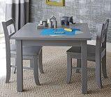 Carolina Small Table + Chairs (charcoal)