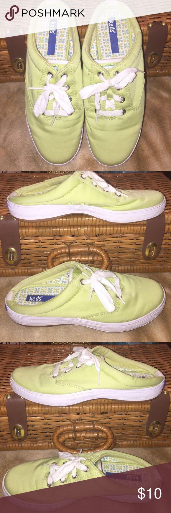 Kiwi Keds Slip Ons Size 6.5 EUC very clean. Keds Shoes Sneakers