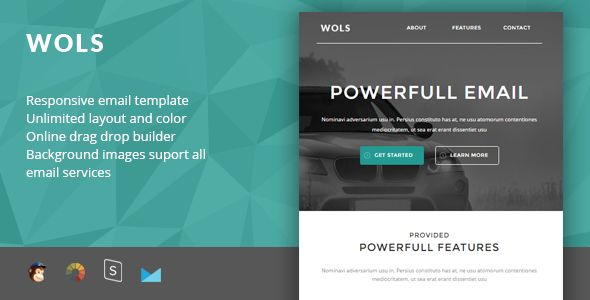 Wols - Responsive Email + StampReady Builder - Newsletters Email Templates