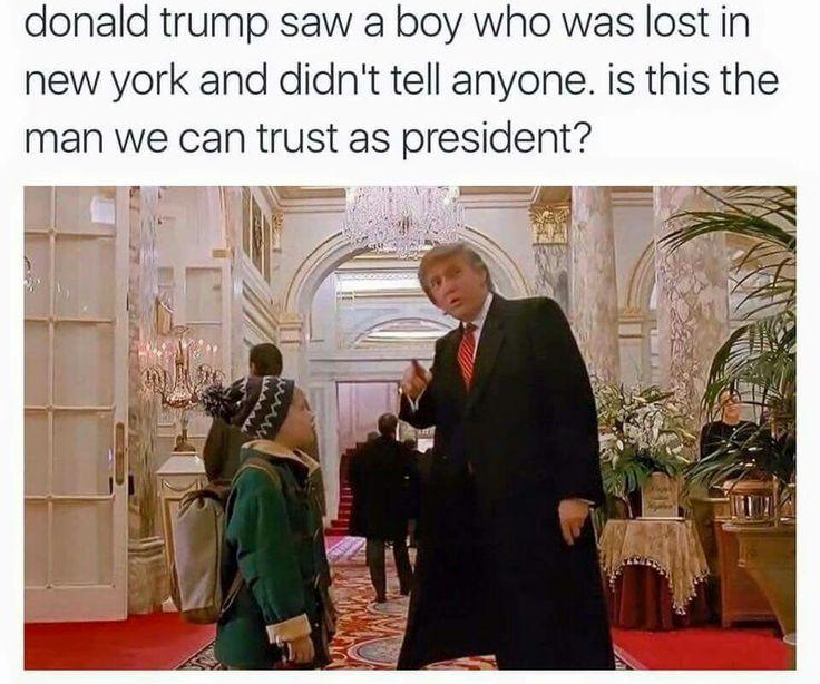 Donald Trump, Home Alone