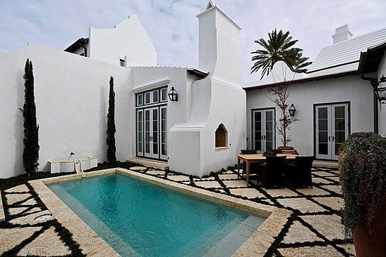 Picture my place in White Stucco with Black Trim