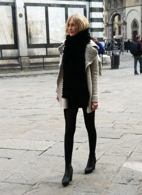 Love this chic look