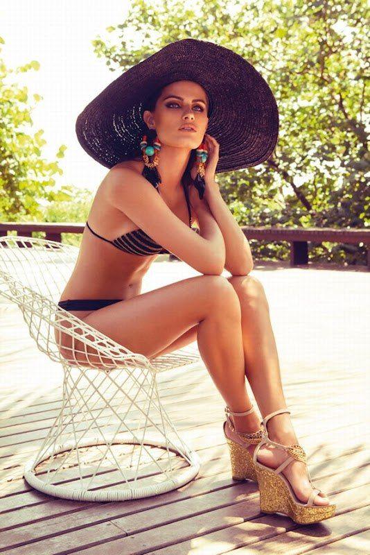 Звезды на фото. - Изабели Фонтана для рекламной кампании Morena Rosa Beach Swimwear