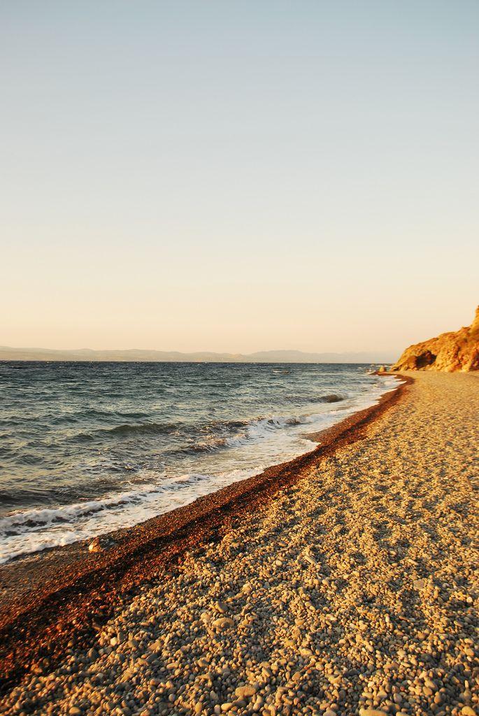 Eftalou Beach, Lesvos Island_ Greece