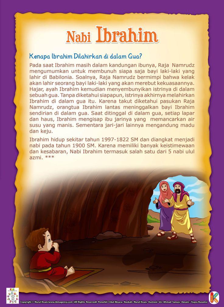 Kenapa Ibrahim Dilahirkan di dalam Gua? | Ebook Anak
