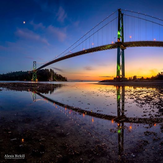 Walk it, drive it, take your bicycle across it - Lions Gates Bridge is a true Man made Wonder! Enjoy your crossing #Vancouver