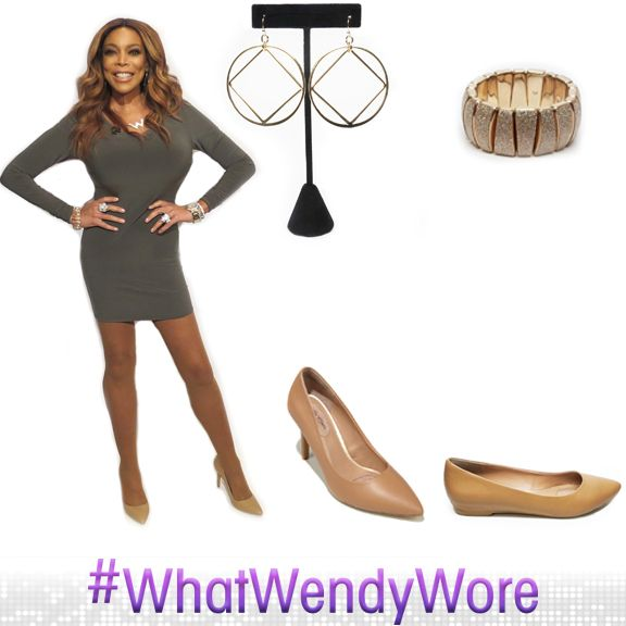 #WhatWendyWore  dress: @deanzign tights: @nudebarre jewelry: @newyorkandcompany + @charmingcharlie glasses: @divaliciouseyewear shoes + flats: @hsn #wendyhsncollection styled by: @memsor