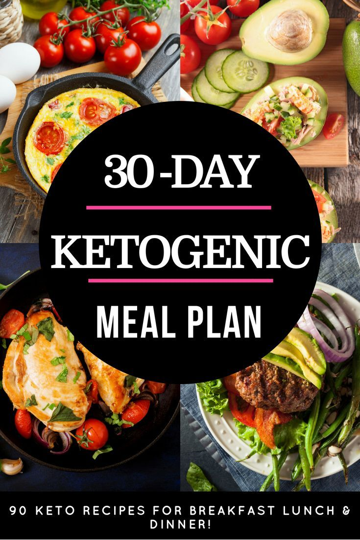 Keto Diet Plan: 90 Keto Diet Recipes This 30-day keto meal plan is perfect if you're new to th…