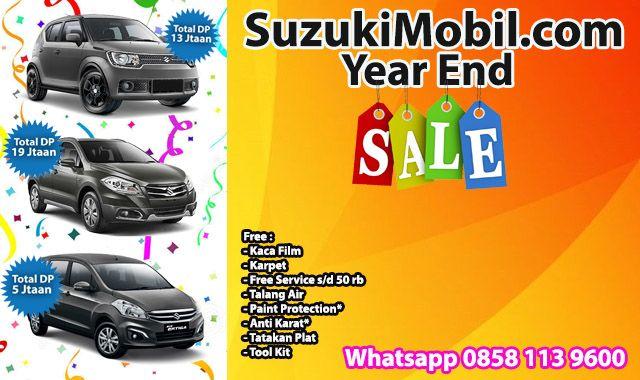 Promo Suzuki Mobil Akhir Tahun 2017 Ngabisin stok sisa, Promo besar, banyak hadiah dan diskon berlimpah. Dp Ertiga murah mulai 5 jutaan