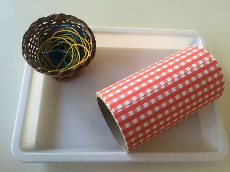 Cilindro y elasticos