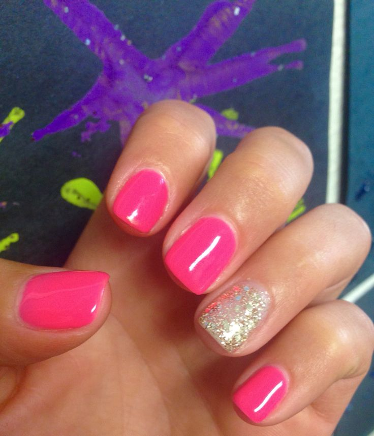 Summer Shellac Manicure