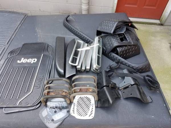 Jeep wrangler TJ misc. accessories (Perry/Massillon) $30