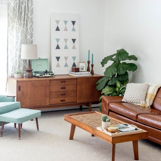Why We Re Carpeted Our Living Room Mid Century Living Room Decor Living Room Carpet Living Room Decor