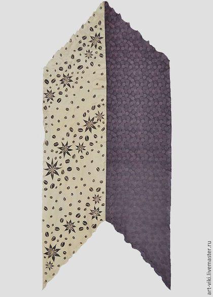 общий вид шарфа
