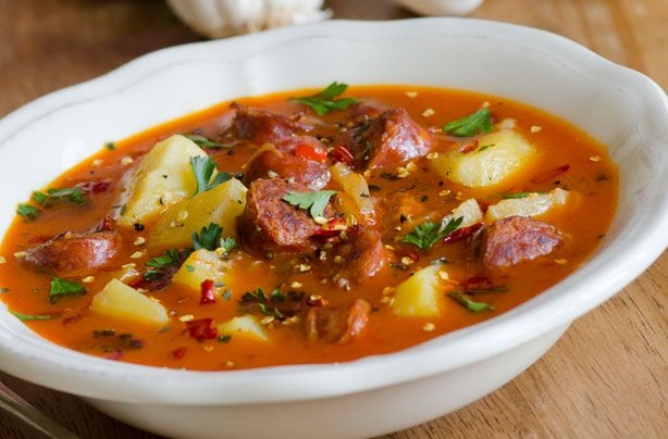 Best 25+ Chorizo soup ideas on Pinterest | Chorizo soup ...