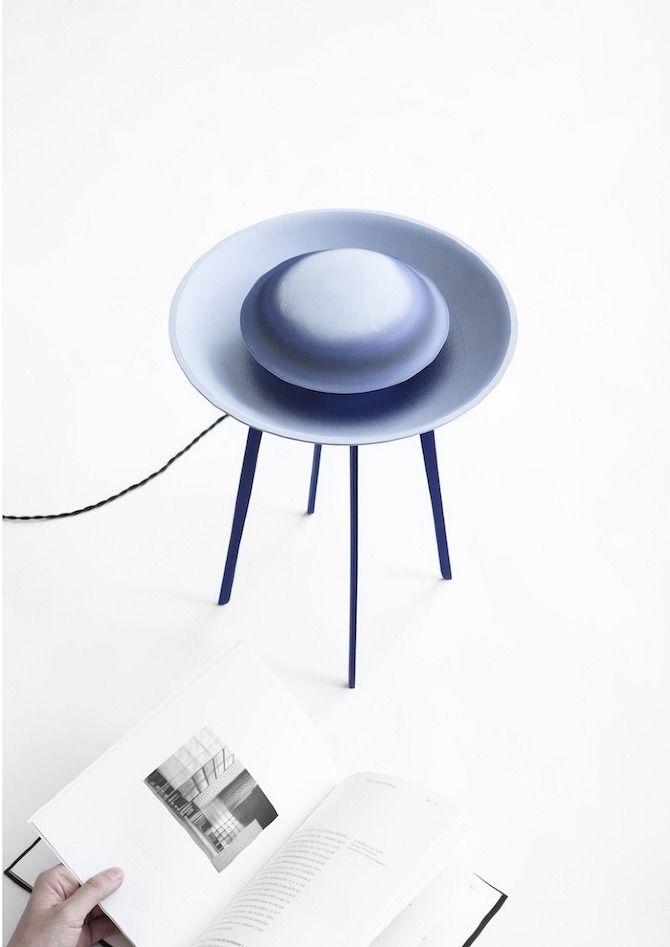 ? Dessus-Dessous by Constance Guisset #ceramics #lamp #design #disappear
