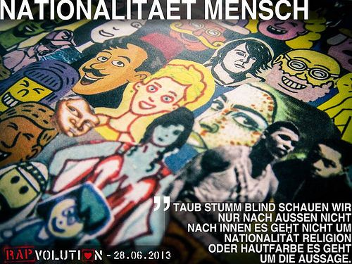 Rapvolution 03 - Nationalität Mensch | von Kilez More