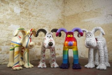 Gromit Unleashed | Bristol City Council. Trail map coming soon July -sept in and around bristol