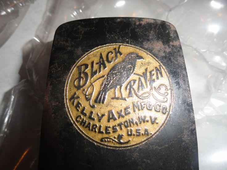 Black Raven Kelly Perfect Salesman Sample Hatchet Leather