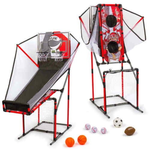 4-in-1-Great-Sport-game-Center-Basketball-Football-Baseball-And-Soccer-Kids