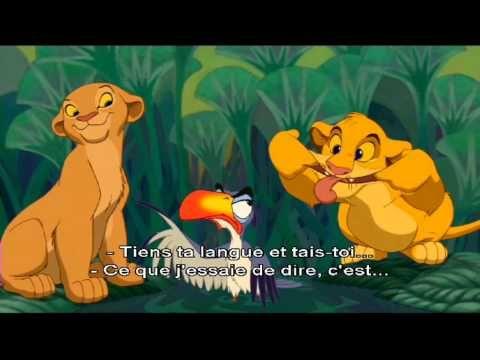Le Roi Lion - Karaoké : Je voudrais déjà être roi ! - YouTube