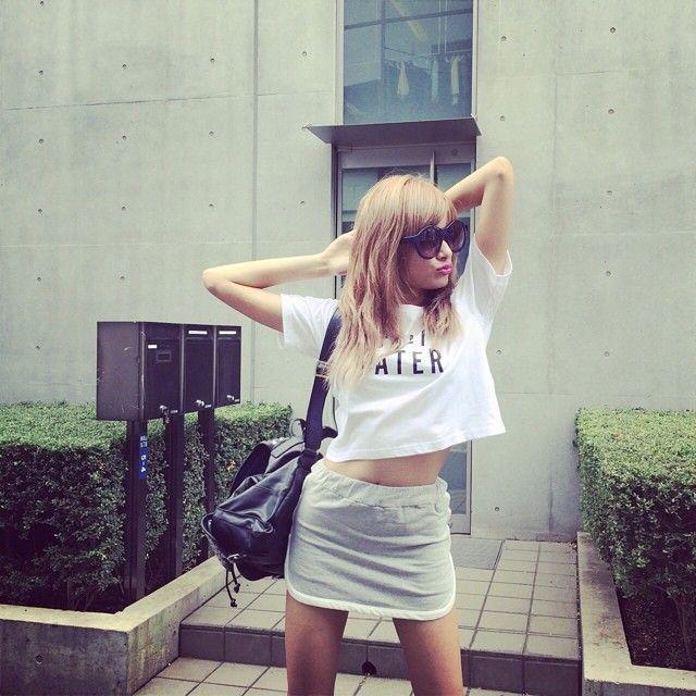 ローラ Rola #outfit #tshirt #gyda #bag #rebeccaminkoff #rola #ローラ