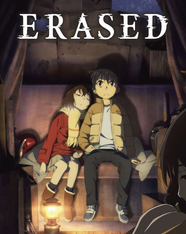 "Erased Volume 2 contains episodes 7-12 plus the Original Soundtrack 02 (by Yuki Kajiura), original short manga by Kei Sanbe, deluxe booklet.  ""I'm not gonna quit until I find the true culprit!""  Erased is a sci-fi thriller series based on the award winning manga series (2014 Manga Taisho Award) by Kei Sanbe."