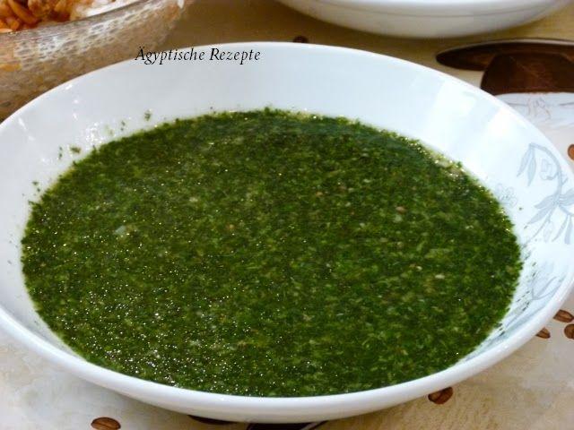 Molokhia - Molokheya Ägyptische Rezepte