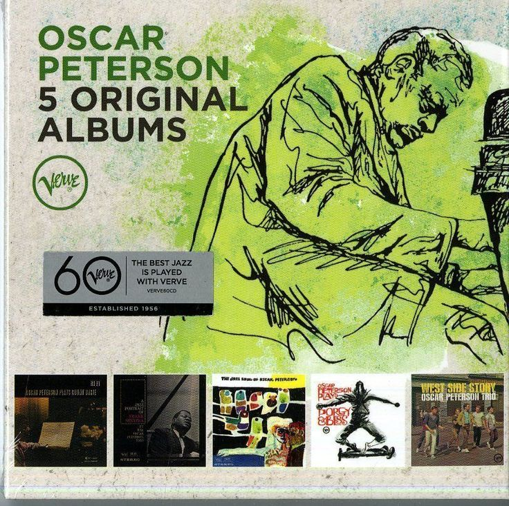 PETERSON OSCAR - 5 ORIGINAL ALBUMS - BOX 5  CD  http://ebay.eu/1Uf7VC4