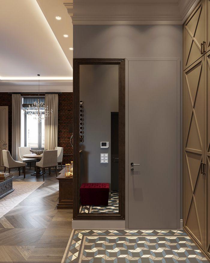 Дизайнер Юлия Романовская разработала проект двухкомнатной квартиры для студии Um Architects.