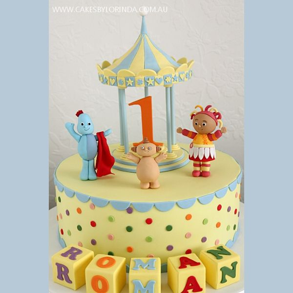 29 best images about in the night garden on pinterest for In the night garden cakes designs