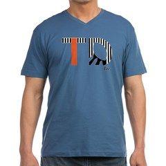 TD Inc. Men's V-Neck T-Shirt