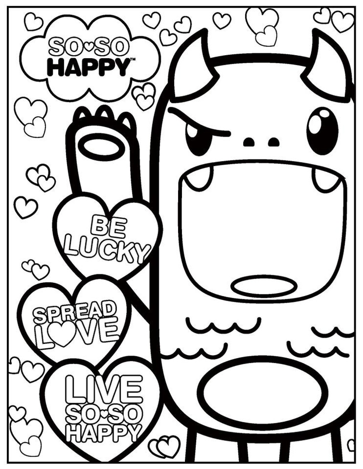 23 best images about kawaii coloring pages on pinterest