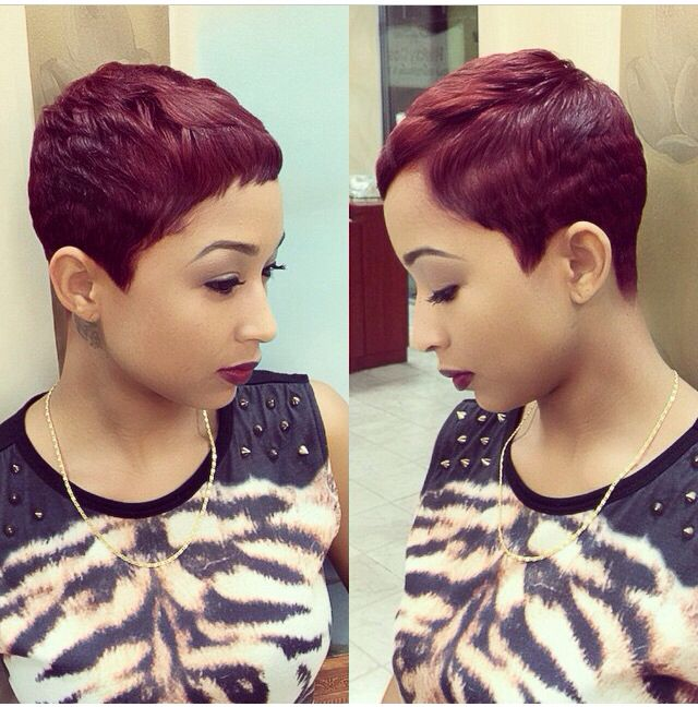 Cute Red Pixie‼️