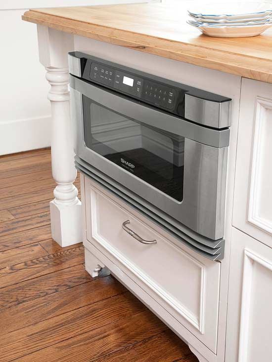White Kitchens We Love Microwave Convectioncountertop Convection Ovenconvection Cookingsharp Drawermicrowave